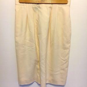 Vintage | Charter Club Yellow Pencil Skirt