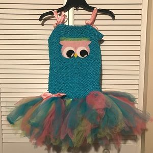 Other - Girls Owl Tutu Outfit