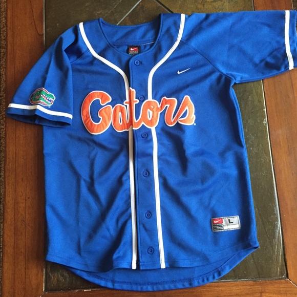 finest selection 43700 9a057 Youth Large Florida Gators baseball jersey