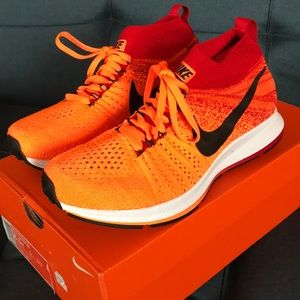 Nike Zoom Pegasus All Out Flyknit Shoes. Youth 6.5