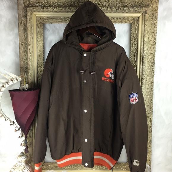 online store b0fab 06add Vintage Cleveland Browns Starter Jacket x 90s NFL