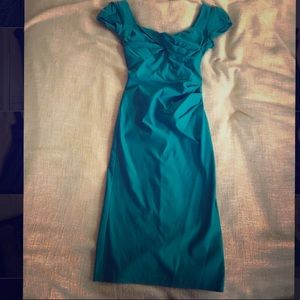 Aqua green Stop Staring Cocktail Dress