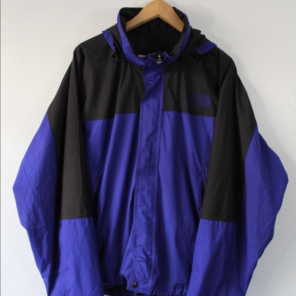 a1203e3ca6 Vintage 90s The North Face jacket black purple. M 5a258572620ff7062a0cfa17