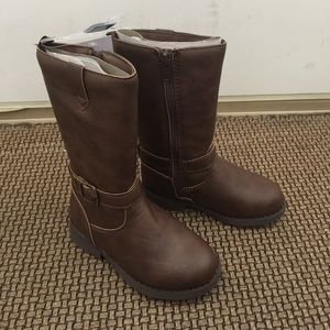 🎉HP🎉 OshKosh Girls Classic Brown Buckle Boots