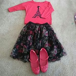 girls complete outfit. Christmas