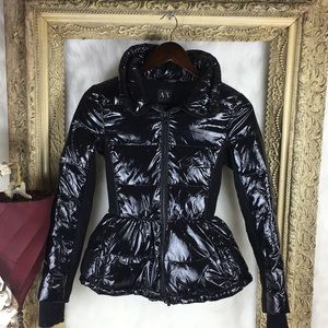 Armani Exchange A/X Zip Up Polyester Puffer Jacket