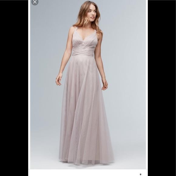 Watters Watters Latte Bridesmaid Dress | Poshmark