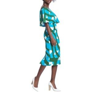 Tracy Reese Off the shoulder dress