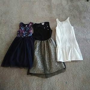 Girls bundle .christmas dress