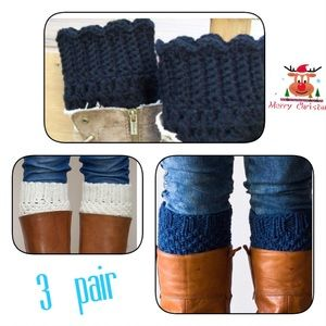 Shoes - Brand new set of boot toppers ( gift wrapped)