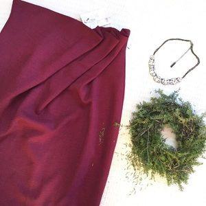 🆕{Listing} ASOS Fanned Waist Midi Skirt