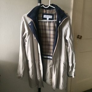 VTG 90s Liz Claiborne Hooded Rain Jacket