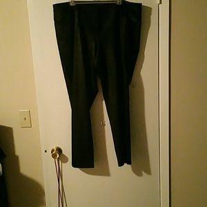Pants - Faux leather skinny pants