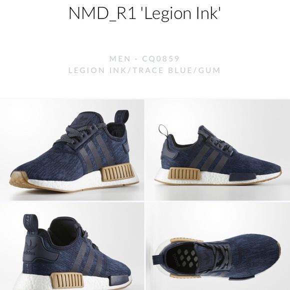 Le Adidas Uomo Tennis Poshmark Nmdr1 Legion D'inchiostro
