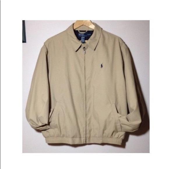 4d6a29bb7 Ralph Lauren Polo Khaki Flannel Lined Jacket