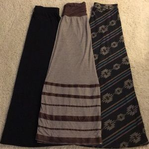 👩🏼Mustard Seed & Mossimo Maxi Skirts. Size S
