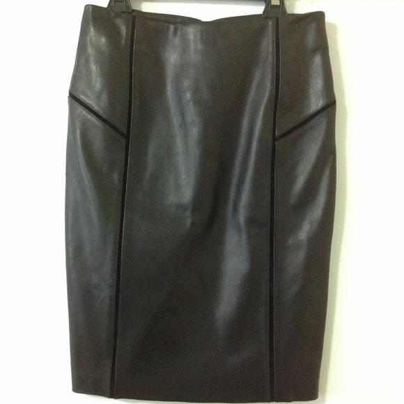 8e2120761d ANTONIO MELANI Skirts | Leather Pencil Skirt | Poshmark
