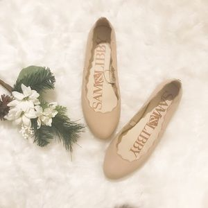 Sam and Libby COMFY nude flats! NWOT
