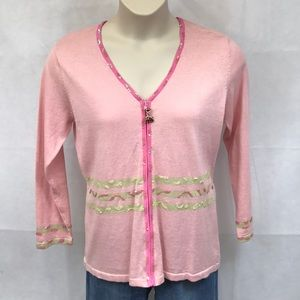 NWT Storybook Knit pink sweater