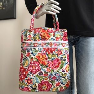 Vera Bradley white floral with butterflies purse