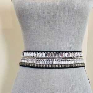 Beautiful jeweled belt from urban outfitters, NWT
