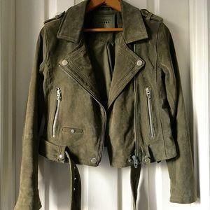 ⚡️⚡️FLASH SALE $125⚡️⚡️BlankNYC Suede Moto Jacket
