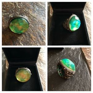Jewelry - Large Crystal Dome Statement Ring
