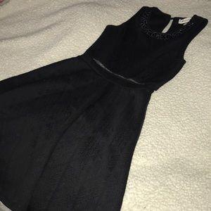 Black Embellished Dress Size XSmall