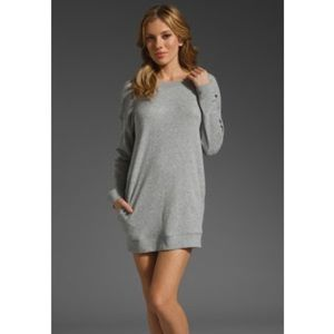🆕Vince Sweatshirt Dress Heather Grey