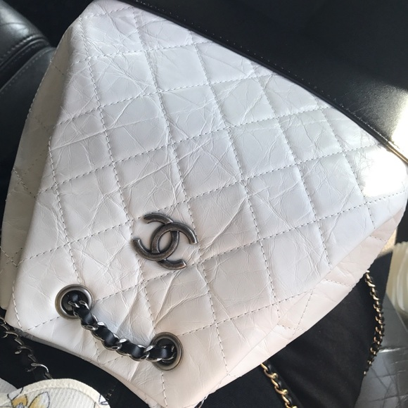 292507c67d5c CHANEL Bags | Gabrielle Mini Backpack Black N White | Poshmark