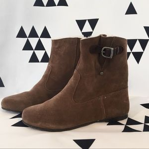 Emu Brown Suede Tamika Boots