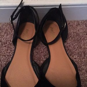 Charlotte Russe Shoes - Black pointed flats