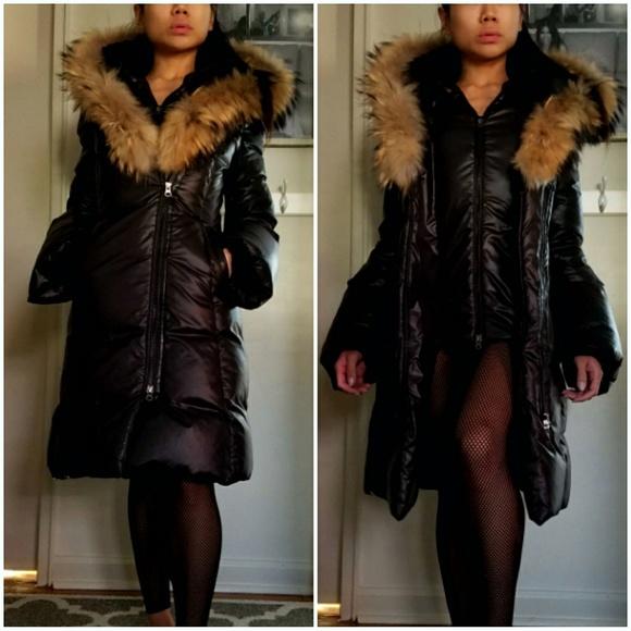 78456ab26344 Mackage Jackets   Blazers - MACKAGE Trish Lavish Fur Trim Hood Down Coat