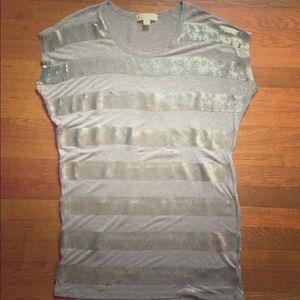 Heather gray tunic by Michael Kors