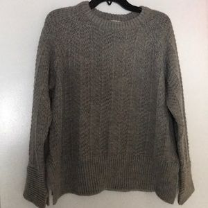 Grey knitted shirt