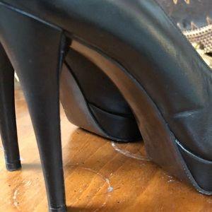 Stuart Weitzman black sexy heels