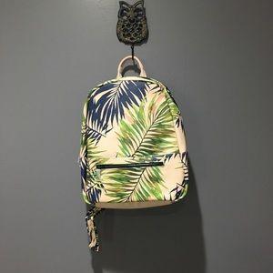 Deux Lux Leaf Print Backpack