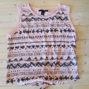 5/$25 Forever 21 women's crop tank top size small