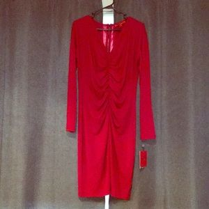 Brand New Red Dress Womens Size Large