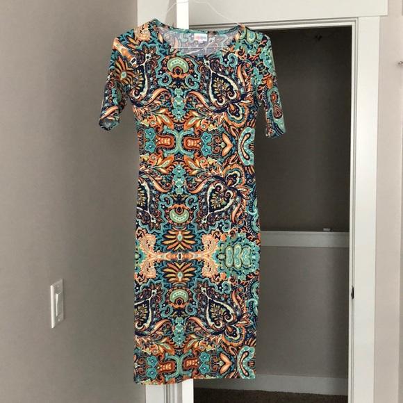 LuLaRoe Dresses & Skirts - LulaRoe Paisley Bodycon dress