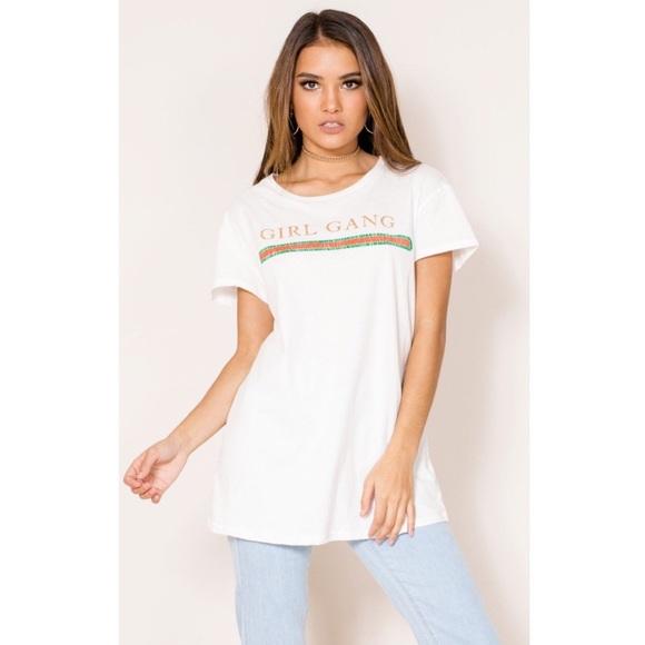 184514b1c279 Tops | Girl Gang Gucci Vintage Style T Shirt T M Medium | Poshmark