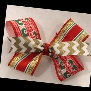 Other - Christmas boutique style bow