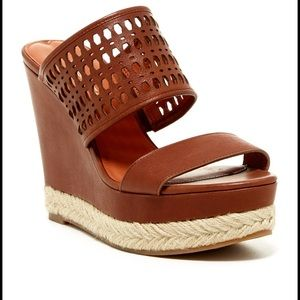 Via Spiga Marisol platform wedges