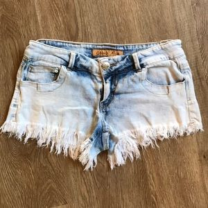 Celebrity Pink distressed cutoff jean shorts, GUC!