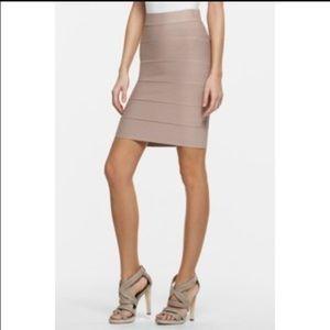 BCBG Gray Power Skirt