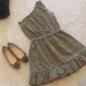 MANGO SUMMER one shoulder dress