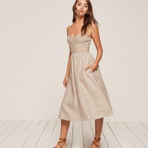 Reformation Olivia dress midi lenght