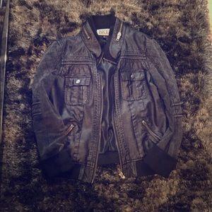 BKE leather jakcet