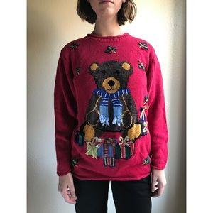 [vintage] ugly Christmas sweater