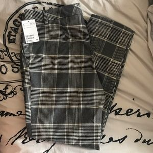 Dress pants with print